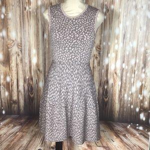 NWT Rebecca Taylor Sleeveless Print Dress Small